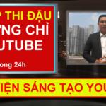 Chứng chỉ Youtube